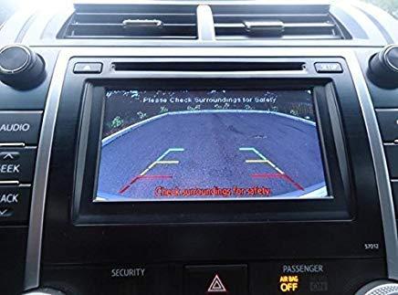 PYvideo Rückfahrkamera Kit für Toyota Camry, Corolla, Prius, Rav4 (2012, 2013, 2014) Schwarz