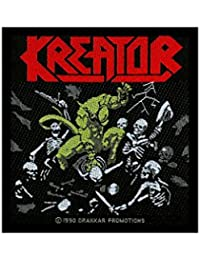 Kreator coutures-pleasure to kill-kreator patch-tissé & licence!