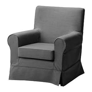 ikea ektorp jennylund housse de fauteuil gris svanby cuisine maison. Black Bedroom Furniture Sets. Home Design Ideas