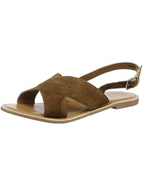 New Look Damen Hold-Cross Strap Sling Sandalen mit Absatz