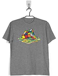 Ropa4 Camiseta Cubo de Rubik Derretido - Sheldon Cooper