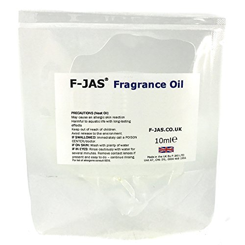 F-jas Huile parfumée (Enhanced, 10 ml Sachet, Citron, Citron vert et pin)