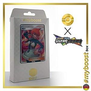 Mars (Venus) 154/156 Entrenadore Full Art - #myboost X Sonne & Mond 5 Ultra-Prisma - Box de 10 Cartas Pokémon Aleman