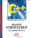Le Langage C++, 3è édition du livre de Bjarn Stroustrup