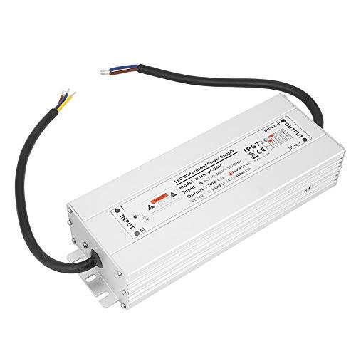 12V / 24V 250W LED Light Strip Netzteil IP67 Wasserdicht für Indoor LED, Lampen, Light Strips(24V 10.4A HRW-24V250W) -