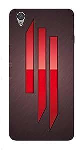 ONEPLUS X DESIGNER HARD PLASTIC (MATT FINISH) BACK COVER CASE FROM CUSTOMIZE GURU