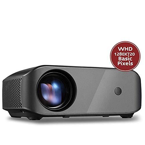 AI LIFE Mini-Projektor Tragbarer Projektor Full HD 1080P unterstützter Videoprojektor 4000 Heimkinoprojektor mit Weißlichthelligkeit Kompatibel mit Smartphone, TV-Stick, Laptop, PS4