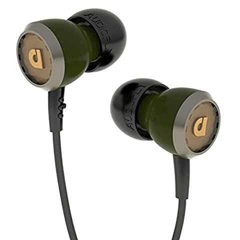 AudioFly AF33 IshGreen Mic Ecouteurs intra-auriculaires