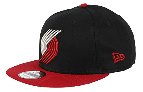 New Era Herren Nba Team 9FIFTY Portland Trailblazer Mütze, Schwarz, M/L (Fan Trailblazers Portland)