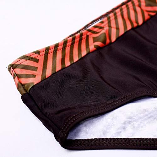 tengweng Damen Sexy Solid Neckholder Gepolstert Push Up Bikini Set Zweiteiliger Badeanzug Badeanzug Badeanzug - - X-Large - 7