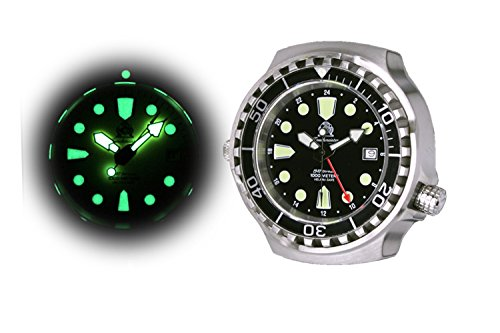 Big size diver watch – 24h automatic movement Milanaise strap T0266MIL