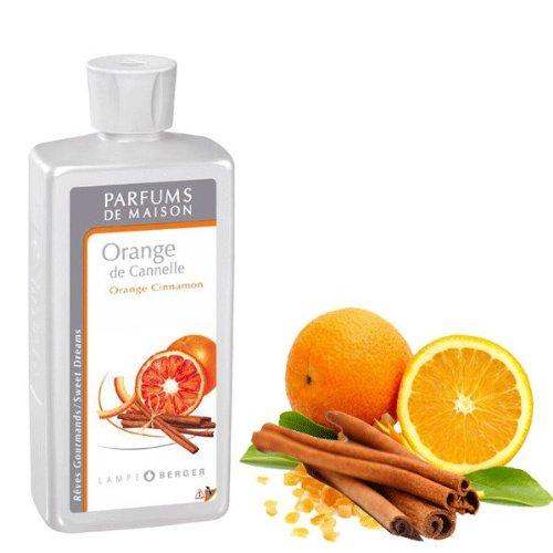LAMPE BERGER Paris Nachfüllflasche Raumduft Orange de Cannelle (0,5l) (Parfüm Duftenden Kokos)