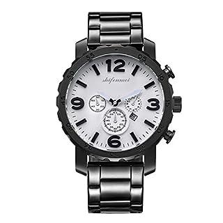 BlackEdragon Mode lässig Quarz Kalender herrenuhr Leder sportuhren Stunden Uhr Casual Armbanduhr mit stahlband Geschenk