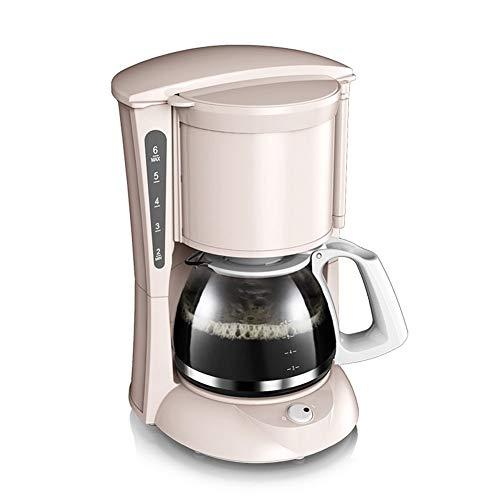 Filterkaffeemaschine 650 ML Für 6 Tassen Abnehmbarer Trichter Für Die Einfache Reinigung Der...