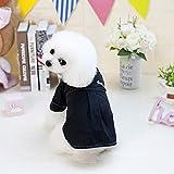 ♣ Tianya - Frühling und Sommer einfarbig Hund Shirt Kostüme Hund Kleidung Weste Haustier Kleidung Welpen Hoodie Pullover Baumwolle Kleidung