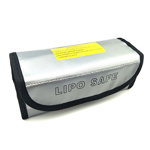 Preisvergleich Produktbild WOSKY Fireproof Explosionproof Lipo Battery Safe Bag Lipo Battery Guard Safe Bag Pouch Sack for Charge & Storage Large size