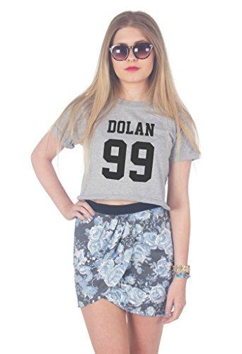 Sanfran Clothing Damen T-Shirt Grau