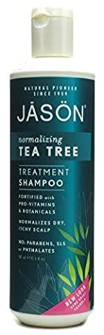 Jason Normalizing Tea Tree Treatment Shampoo 17.5 oz - (Pack Of 2) by JASON NATURAL PRODUCTS
