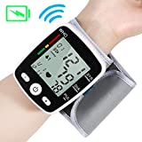 QAIYXM Sphygmomanometer Heart Rate Monitor for Wearable Wrist Automatic Digital Blood Pressure Pulse Monitor for Travel And Home