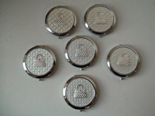 Diamante Compact (Handbag Design Diamante Compact Mirror by Lesser & Pavey)