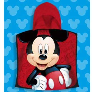 Tessuto tarragó topolino asciugamano con cappuccio, cotone, rosso, 30x 30x 3cm