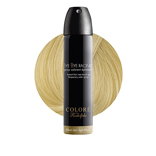 bye bye racines spray colorant phmre blond clair - Spray Colorant Cheveux Temporaire