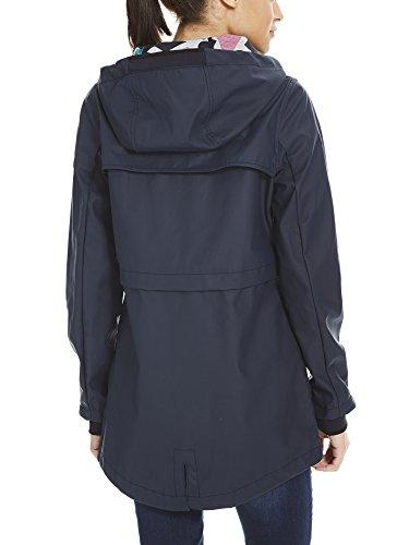 Bench Bonded Slim Rainjacket, Impermeable Donna Blu (Essentially Navy Bl11341)