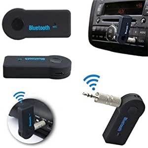 Samsung Galaxy Mega 5.8 ( 9152 ) Compatible Wireless Bluetooth Receiver Adapter 3.5MM AUX Audio Stereo Music With Charging Cable / Hands free Car Kit By Cool & Creative