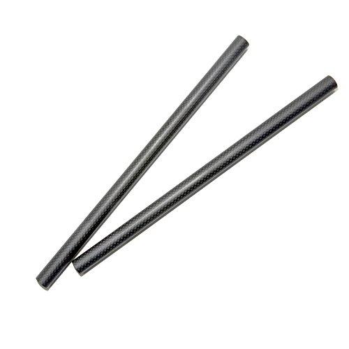 15 mm Carbon Ruten 30 cm Länge für DSLR Schulter Rig 15 mm Schiene Support System -