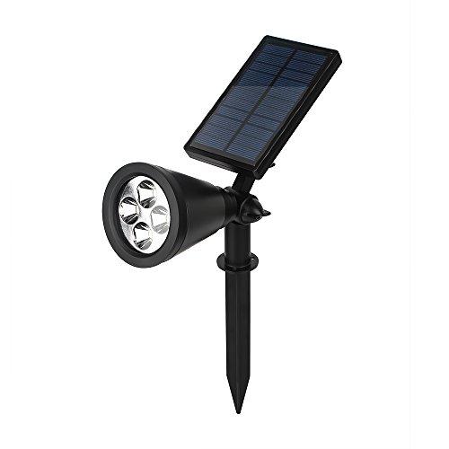 Kuke Solar LED Pflanzenlampe Growing, mit 16 LED Pflanzenlicht Einstellbare Flexible 90 Grad Solarleuchte für Outdoor Automatische Pflanzen Hydroponik Gartenarbeit