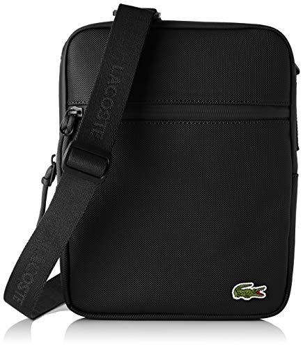 Lacoste - L.12.12 Concept, Shoppers y bolsos de hombro Hombre, Negro (Black), 2.5x25.5x20 cm (W x H L)