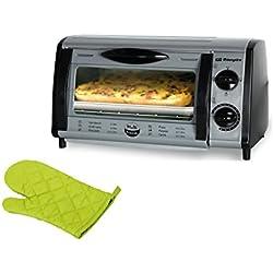 Orbegozo HO 810 A + MANOPLA - Mini horno-tostador multifunción