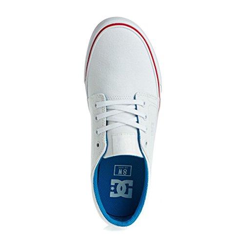 DC - Trase Tx M Shoe Frn, Sneaker basse Uomo Bianco