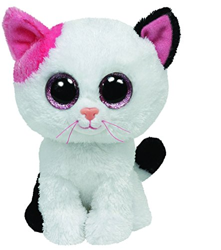 ty-ty36086-peluche-beanie-boos-moyen-muffin-le-chat-15-cm