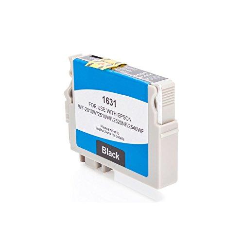 Preisvergleich Produktbild Inkadoo Tinte passend für Epson WorkForce WF-2660 DWF kompatibel zu Epson 16XL,  T1631,  T16314010 C13T16314010,  T163140 - Premium Drucker-Patrone Alternativ - Schwarz - 500 Seiten - 14, 60 ml