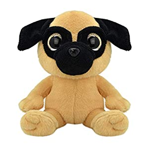 ORBYS Wild Planet 15cm Luxury Handmade Pug Soft Toy. Plush Toy.