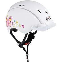 casco Mini-Generation - Casco de ciclismo infantil para bicicleta de paseo, color blanco ( 44 - 50 cm )