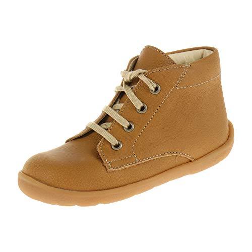 Bio Line by Däumling Baby Schuhe für Jungen Schnürschuh Halbschuh Nappa CF Sattel Weite S 030011S35 (22 EU) (Für Sattel-schuhe Jungen)