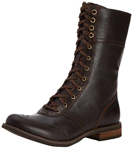 Details zu Timberland A123K Damen Savin Hill Mid Zip Stiefeletten; Boots Leder Black