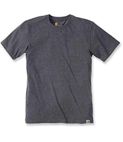 Carhartt .101124.026.s005 Maddock nicht Pocket T-Shirt, Medium, Carbon Heather -