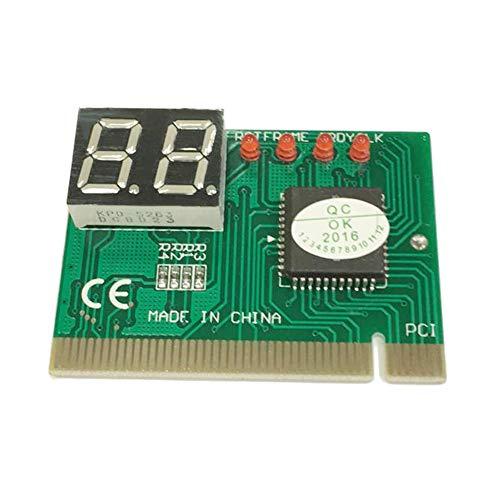 BFHCVDF PCI PC Diagnóstico Tarjeta 2 dígitos Placa