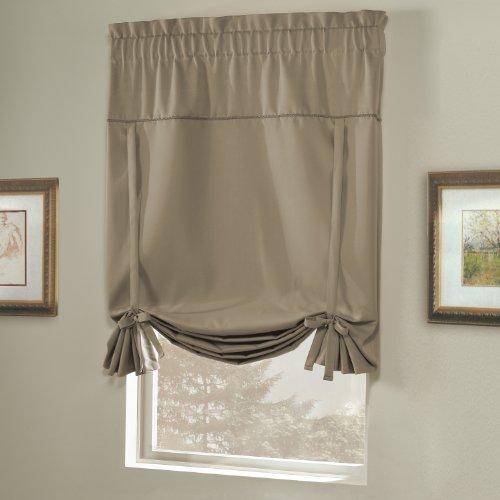 American Vorhang und Home Blackout zum Raffen Schatten, 101,6cm Durch 63-inch, Taupe (Windows Blackout-schatten Für)