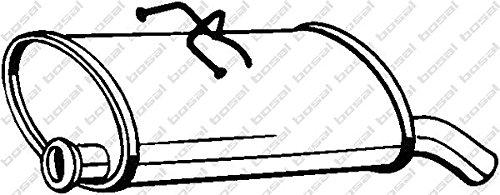 Preisvergleich Produktbild Bosal 135-707 Endschalldämpfer