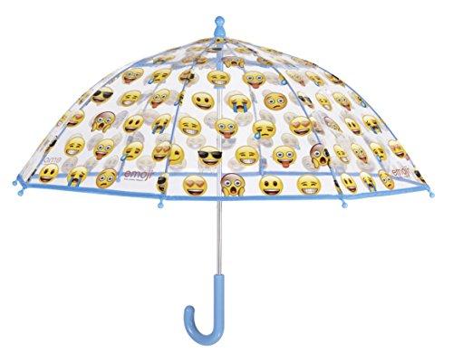 Perletti 75051 Emoji Klassische Regenschirm (Glas-block-caps)