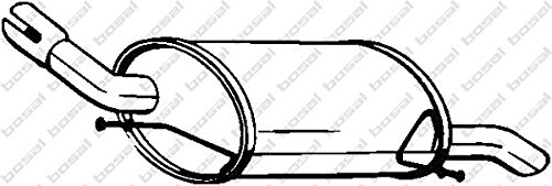 Bosal 185-619 Endschalldämpfer