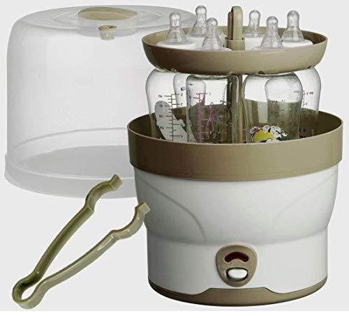 Klar Dampf Sterilizzatore 6 Fl. Baby Bottiglie Vaporizzatore Sterilizzatore Vapore