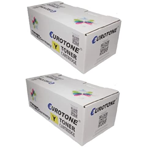 2x Eurotone High Quality Toner Cartridge per Xerox Phaser 6100