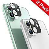 AUCHIKU Caméra Arrière Protecteur pour iPhone 11, [2 pièces] Le Coque Protection d'objectif Arrière pour iPhone 11 (Caméra Au Dos,Pas Verres Trempés)