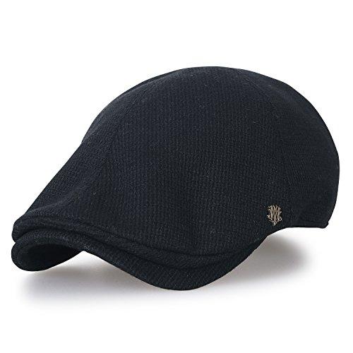 Ililily Knitted Wool-Blend Gatsby Newsboy Hat Cabbie Hunting Flat Cap