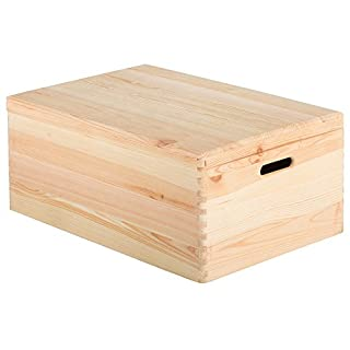 Box Wood Pine Unvarnished 60x 40x 23